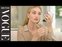 Rosie Huntington-Whiteley's Guide to Metallic Eye Make-Up | My Beauty Tips | British Vogue