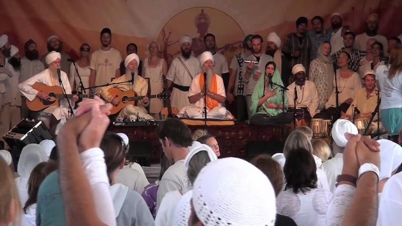 Thousand Suns ~ The GuruGanesha Band Guru Singh LIVE at Sat Nam Fest West 2012