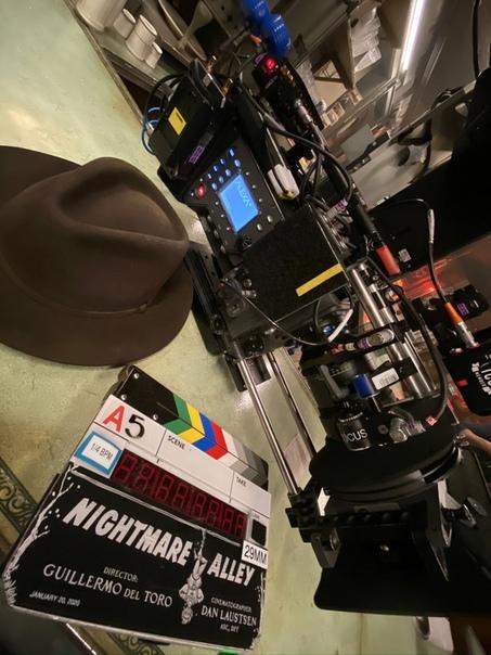 Съёмки «Аллеи кошмаров» Гильермо дель Торо официально стартовали