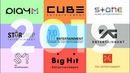 Biggest Richest K-Pop Labels | RANKING 2019 | Which is your favourite?