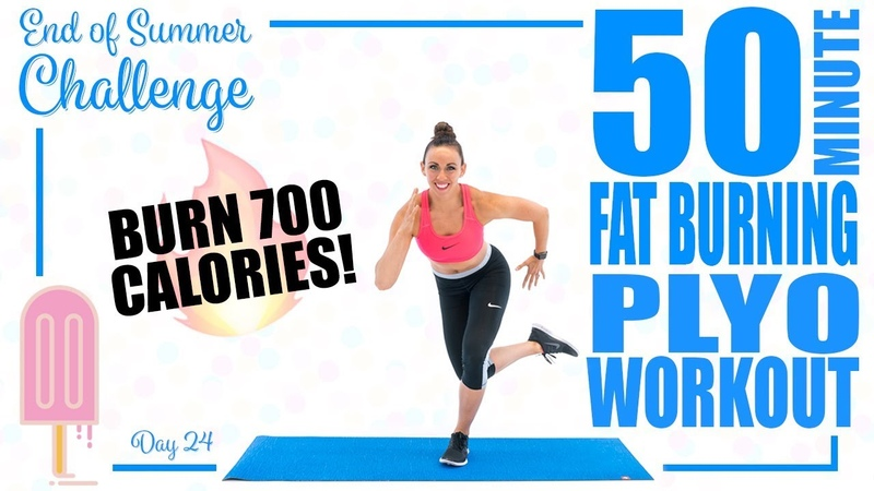 50 Minute Fat Burning Plyo Workout 🔥Burn 700 Calories! 🔥
