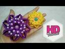 DIY Bintang Jatuh Tutorial Simple Kanzashi Flower Satin Ribbon Flower HD Tutorial