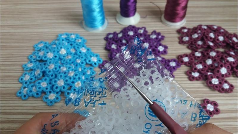 🌼 Sipariş Rekorları Kıran Muhteşem Tığ İşi Motifım 😀🌼 Çok güzel oldu 👏Turkish HandmadeKnitting