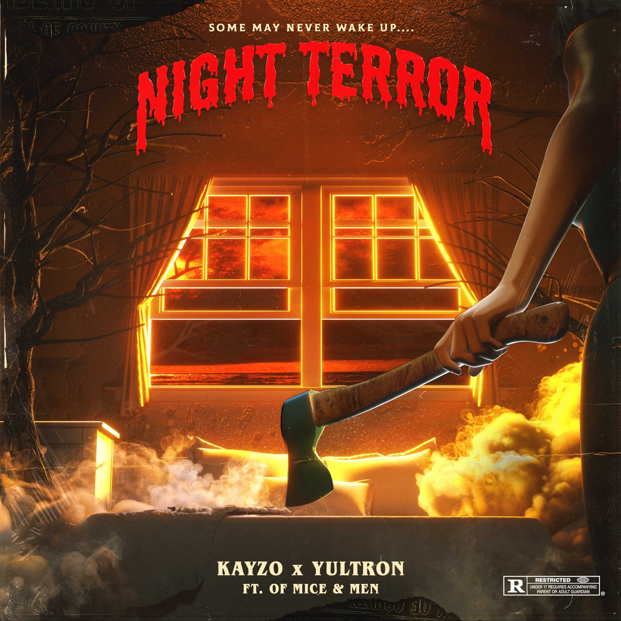 Kayzo - Night Terror x YULTRON (feat. Of Mice & Men) [single] (2019)