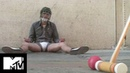 Johnny Knoxville's Extreme Nut Shots Ultimate Cup Test Jackass
