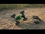 Машинка-трансформер Big Foot Hyper Actives Stunt 48см и Leopard King 34см и 40 см