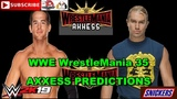 WWE WrestleMania 35 Axxess NXT vs NXT Alumni Roderick Strong vs Tyler Breeze Predictions WWE 2K19