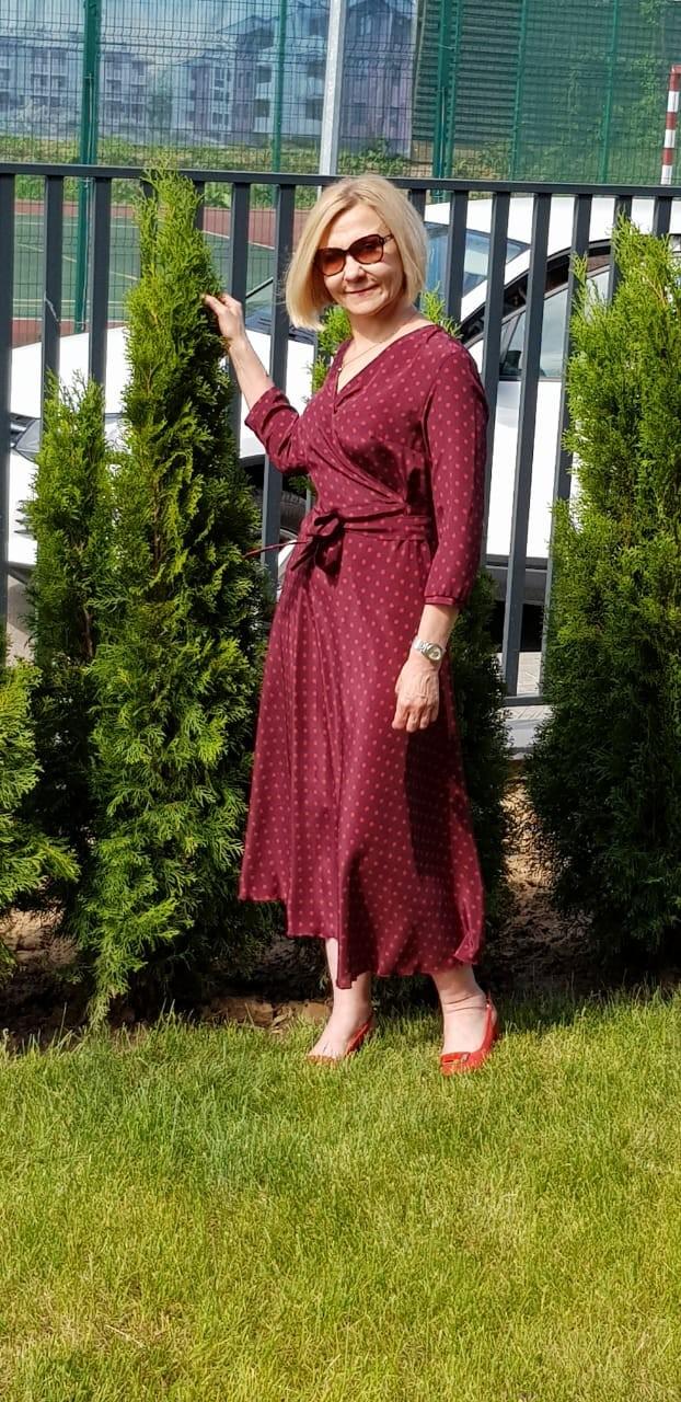 Прекрасная Светлана в платье нашей работы