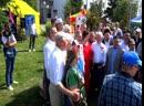 Встреча губернатора Тюменской области Александра Моора на татарском подворье.