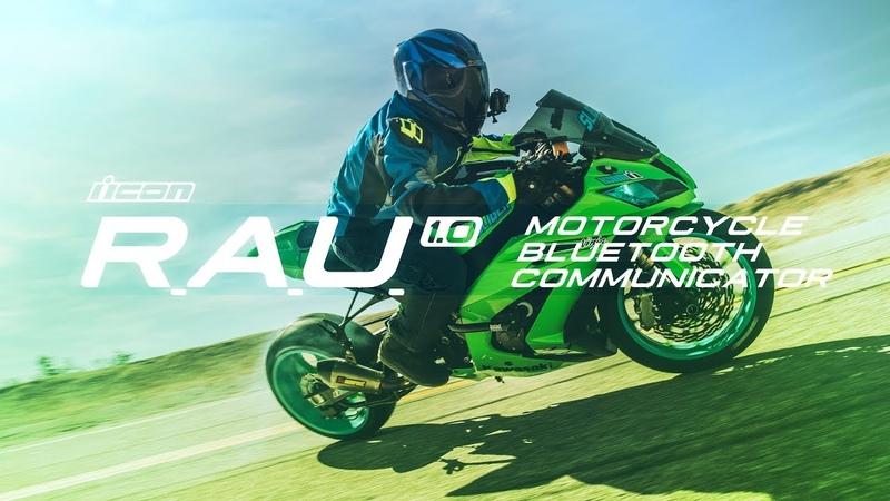 ICON - RAU Motorcycle Bluetooth Communicator