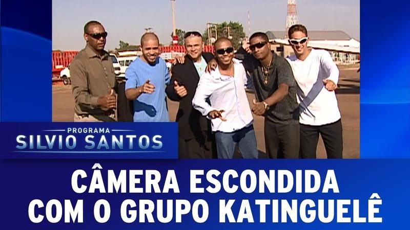 Câmera Escondida 09 10 16 Grupo Katinguelê cai na brincadeira