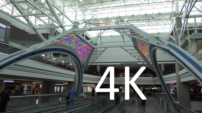 A 4K Tour of Denver International Airport (DEN)