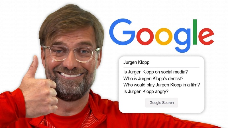 Jurgen Klopp Answers the Web's Most Searched Questions About Him Autocomplete Challenge
