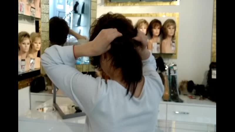 Примерили короткий парик CLUB. Комфорт, качество и стиль от бренда Ellen Wille
