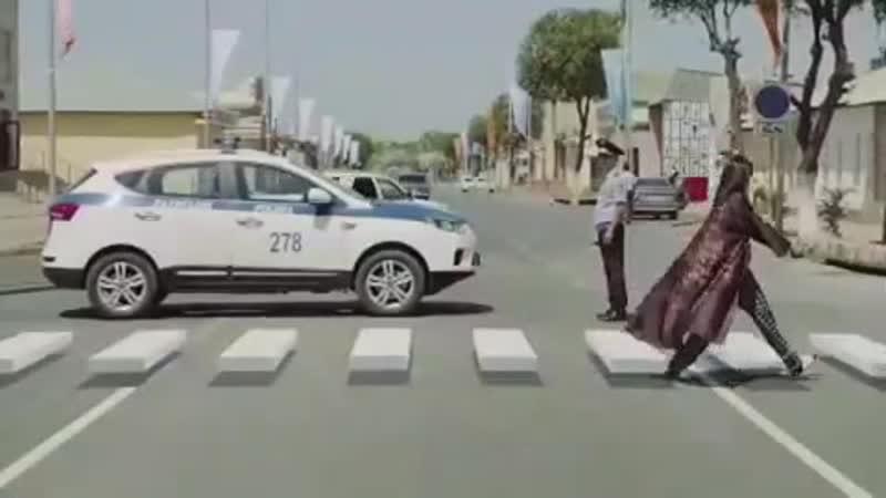 Первый 3D пешеходный переход в Туркестане
