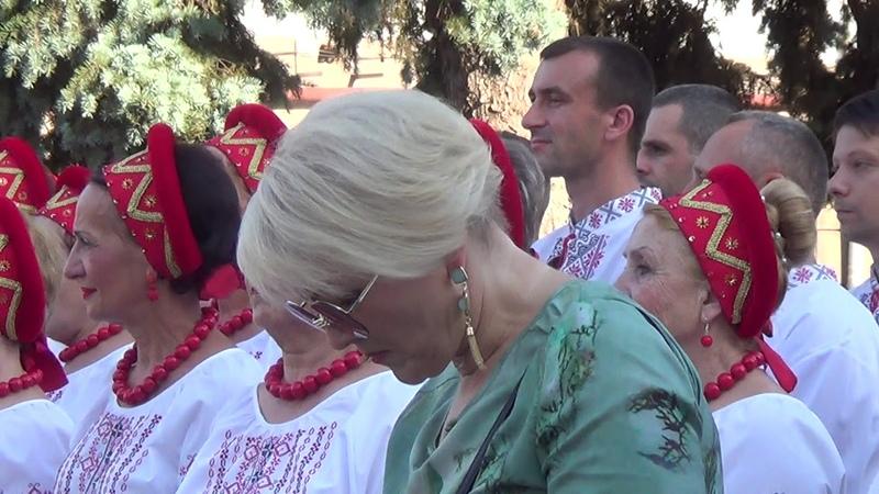 Відкриття 9- го всеукраїнського фестивалю Червона калина 1