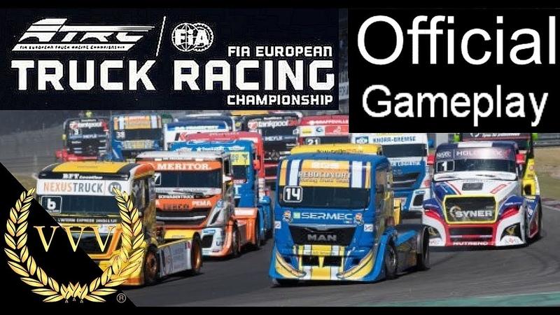 European Truck Racing - First Look Official Gameplay