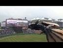 На открытии чемпионата Южной Кореи по бейсболу использовали технологии 5G. Реалистичный Дракон лет
