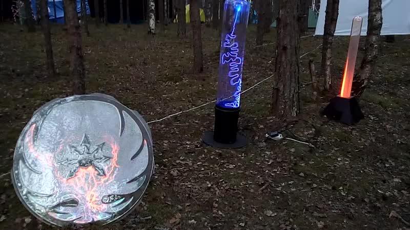 Tesla Coil - плазменные скульптуры