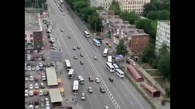 Автобусы на Нагибина. 15 июля.