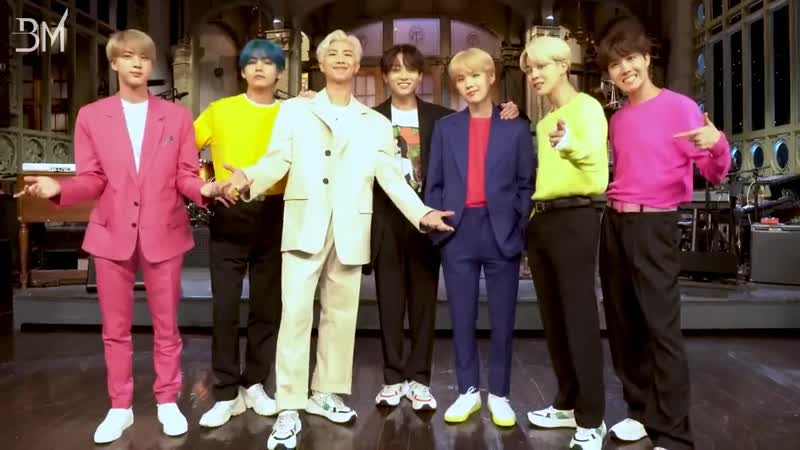 RUS SUB 12 04 19 BTS has a message for you @ SNL