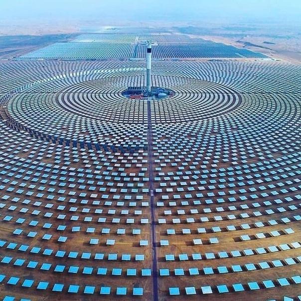 Уарзазатская солнечная электростанция в Марокко