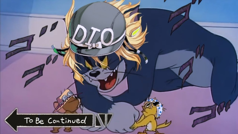Steel Ball Run Tom Jerry | Epic Anime Fight