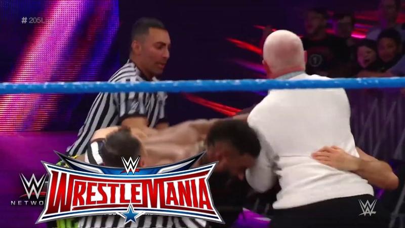 WWE Cedric Alexander vs Ariya Daivari ( Try Not To Laugh)