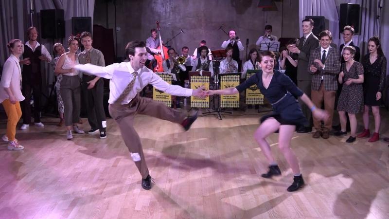 Lindy Hop Advanced MixMatch Final Jam at Russian Swing Dance Championship 2019