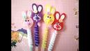 Игрушки из фетра заколки МК / felt toys DIY