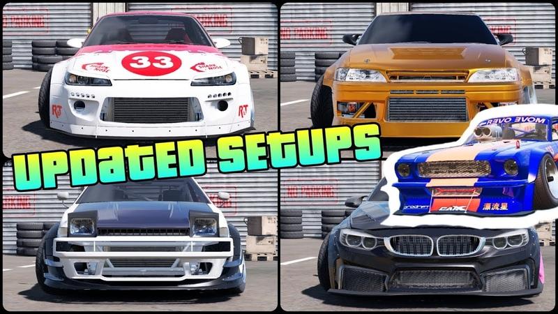 Updated Pro-Drift III Setups for 14 Cars!   CarX Drift Racing 2