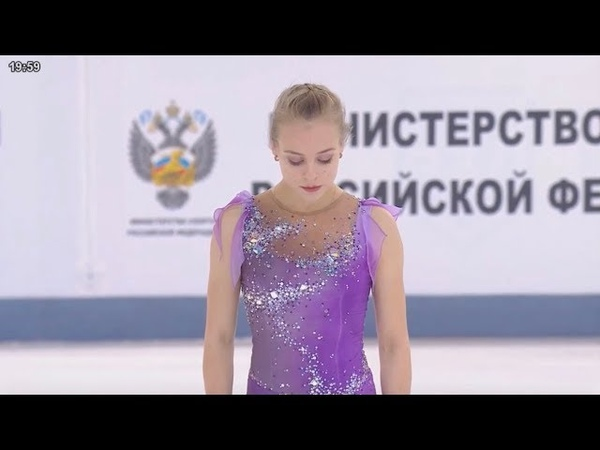 ❤️ Anastasiia GUBANOVA / Анастасия Губанова - Russian Nationals 2019 Ladies FS - December 22, 2018