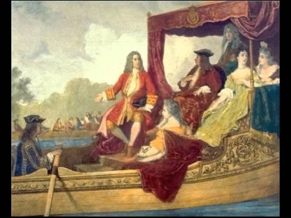 Georg Friedrich Händel. Water Music. Suite in G major for orchestra No. 3, HWV 350
