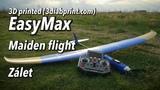 Easymax - 3D printed RC Electro-Glider - Maiden flight-Z