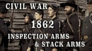 Civil War - Musket Drill Inspection Arms Stack Arms HD