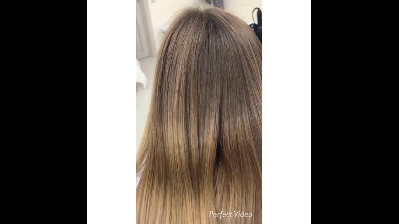 Кератиновое восстановление и выпрямление волос GKhair
