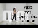 ATEEZ (에이티즈) - WAVE Dance Tutorial (Mirrored) | Ratna Sari