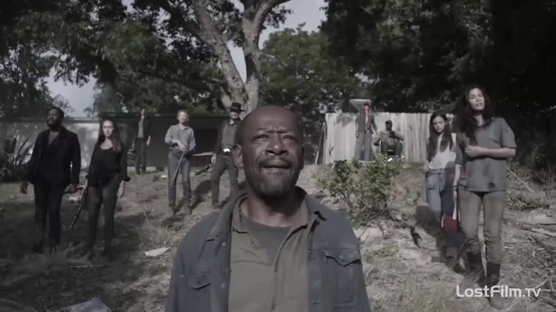 Озвученный трейлер пятого сезона «Бойтесь ходячих мертвецов»