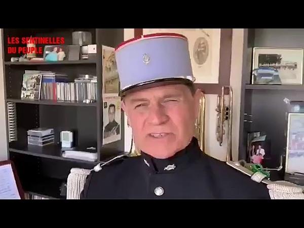 Le Major Patrick Nicolle s'adresse à Macron