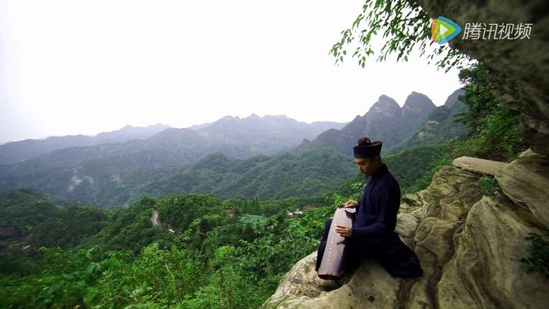 古琴曲『臥龍吟』胡瑋哲道長 - 武當山唯美意境拍攝