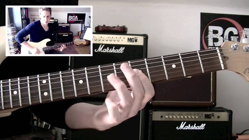 Hendrix style lesson - Chords with Licks