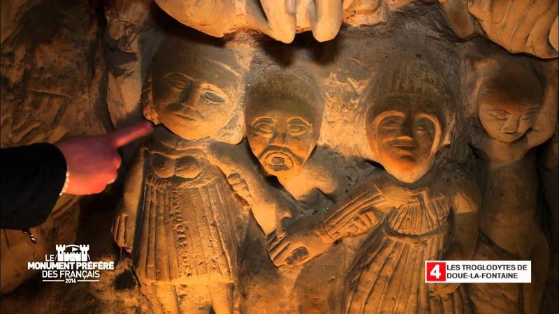 Les troglodytes de Doue La Fontaine - Région Pays-de-la-Loire - Le Monument Préféré des