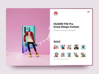Huawei | kotw sticker pack 3d version by leo natsume