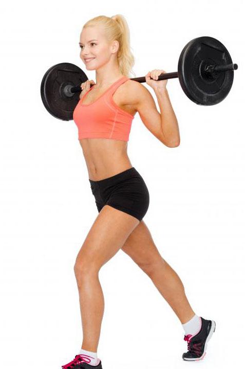 Штанги фиксированного веса не могут быть скорректированы.