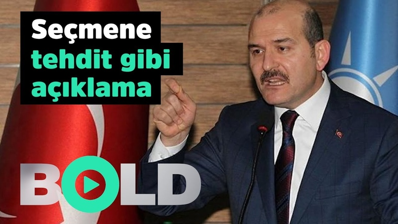Süleyman Soylu'dan İstanbullu seçmene tehdit gibi açıklama | ''İstanbul'da hiç patlama olmuyor''