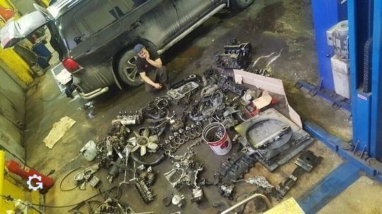 Самое сложное в ремонте автомобиля - это собрать всё как было