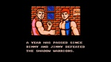 NES 60fps Double Dragon III - The Sacred Stones 2 players longplay