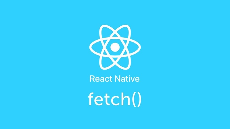Fetch() - React Native - Урок 22 - Level 0