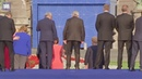 Jean-Claude DRUNK(?)er stumbles and is helped by leaders at NATO gala - Daily Mail (Music: Genesis - I can't dance) · coub, коуб
