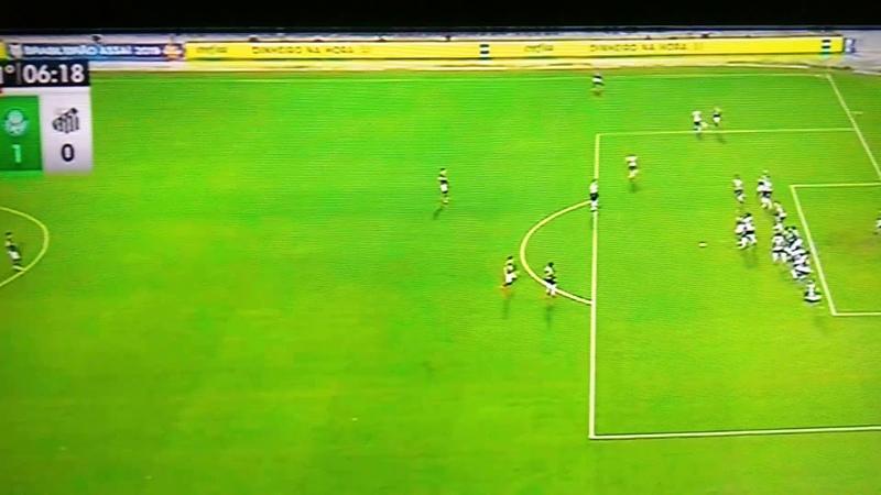 Gol do Palmeiras|Gol do Gustavo Gomez|Palmeiras x Santos